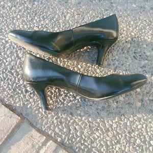 Black Life Stride Heels